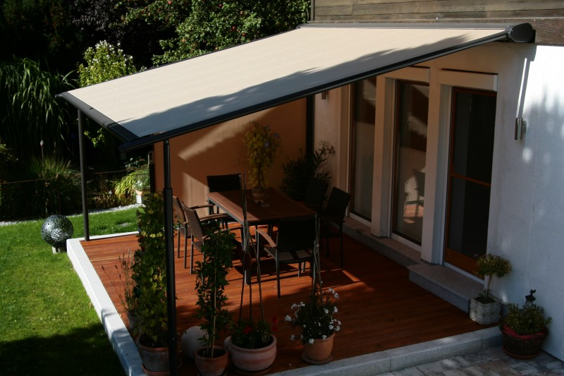 Retractable Roof Pergola - Home Decorating Ideas on Patio Cover Ideas Uk id=48647