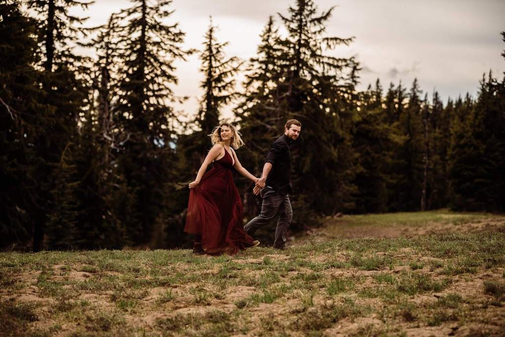 Crater Lake Elopement Adventure Session