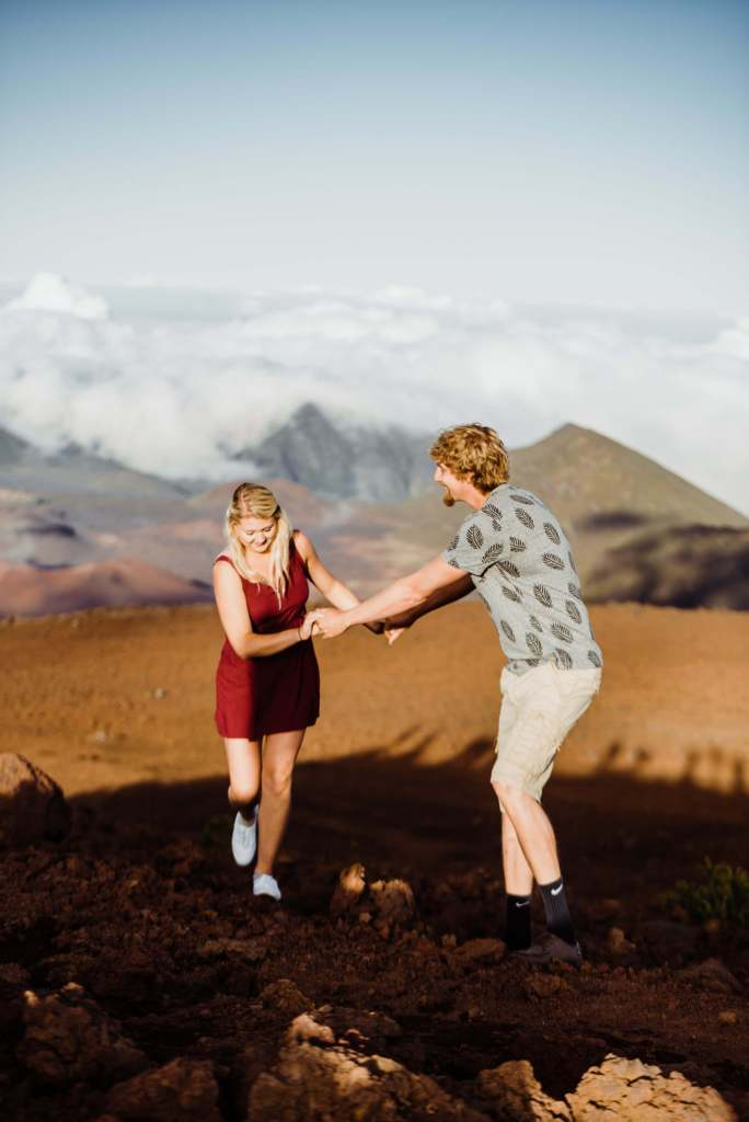 Haleakala National Park Adventure Session, Elopement, Maui