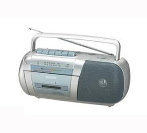 SANYO MX150F Portable Radio Cassette Recorder for 110240