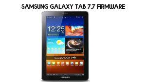 Samsung GT-P6800 Stock Firmware (Flash File)