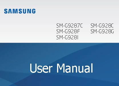 Samsung Galaxy S6 Edge+ Manual