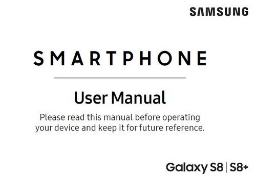 Samsung Galaxy S8 Manual Verizon