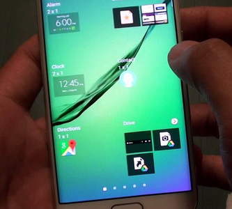 Add New Home Screen Page in Samsung Galaxy S6 Edge Plus