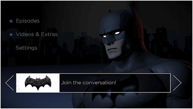 Batman Telltale series games app