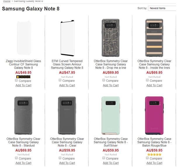 Samsung Galaxy Note 8 Cases