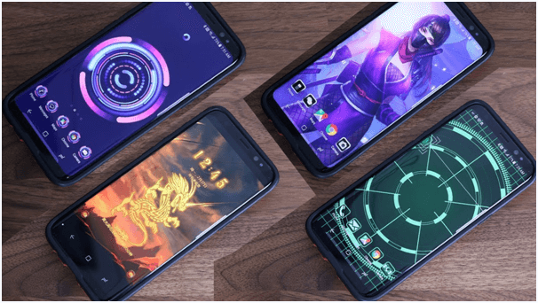 Customize your theme in Samsung Galaxy S8