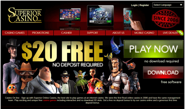 Superior casino samsung bonuses
