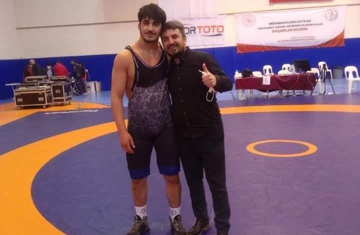 Yakakent'li Mustafa Olgun Türkiye Şampiyonu Oldu