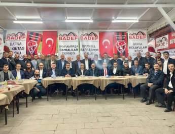 """BADEF; """" Hacıoğlu yla Devam""""dedi"""