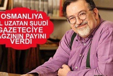 """""""İlk DAEŞ Osmanlı'dır"""" diyen Suudi gazeteciye ayarı verdi!"""