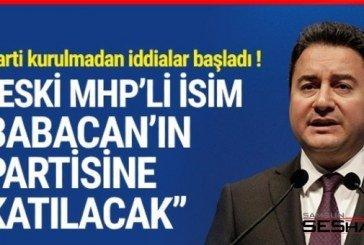Eski MHP'li isim Babacan'ın partisine katılacak mı?
