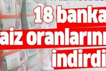 Merkez Bankası faiz indirdi! En düşük faizle kredi veren bankalar…
