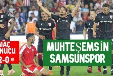 Yılport Samsunspor – Pendikspor: 2 – 0 Tıkla golleri izle