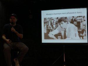 Moderný Barman - prednáška z úst George Nemca.
