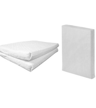 Johnston S Travel Cot Safety Foam Mattress Click To View Larger Image