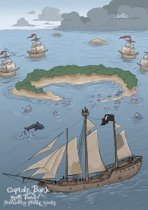 Pirate Boat Illustration