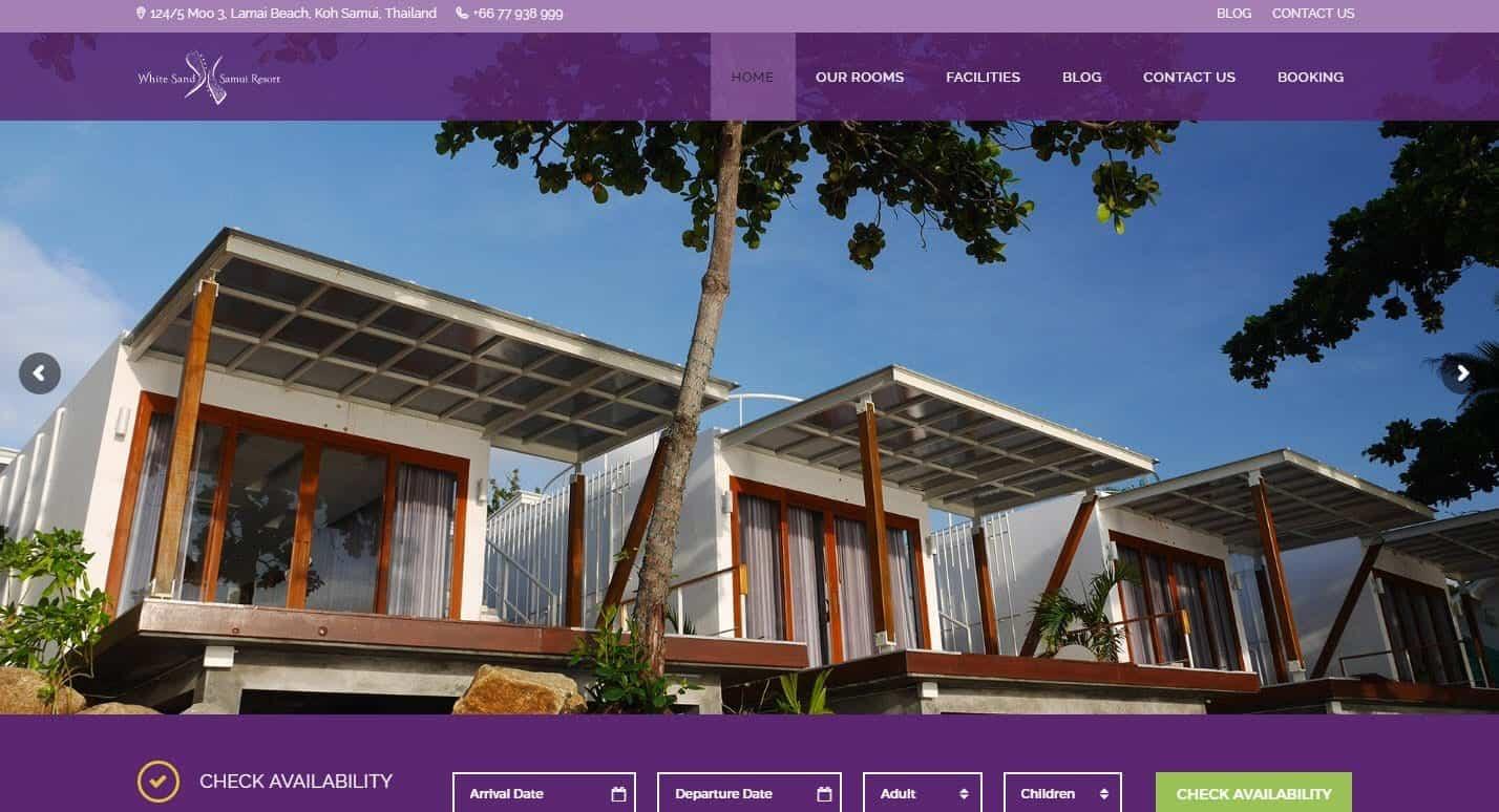 White Sand Samui Resort, Lamai, Koh Samui