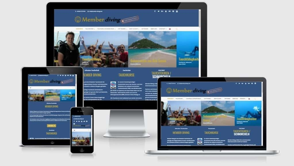 New Member Diving Website Launched