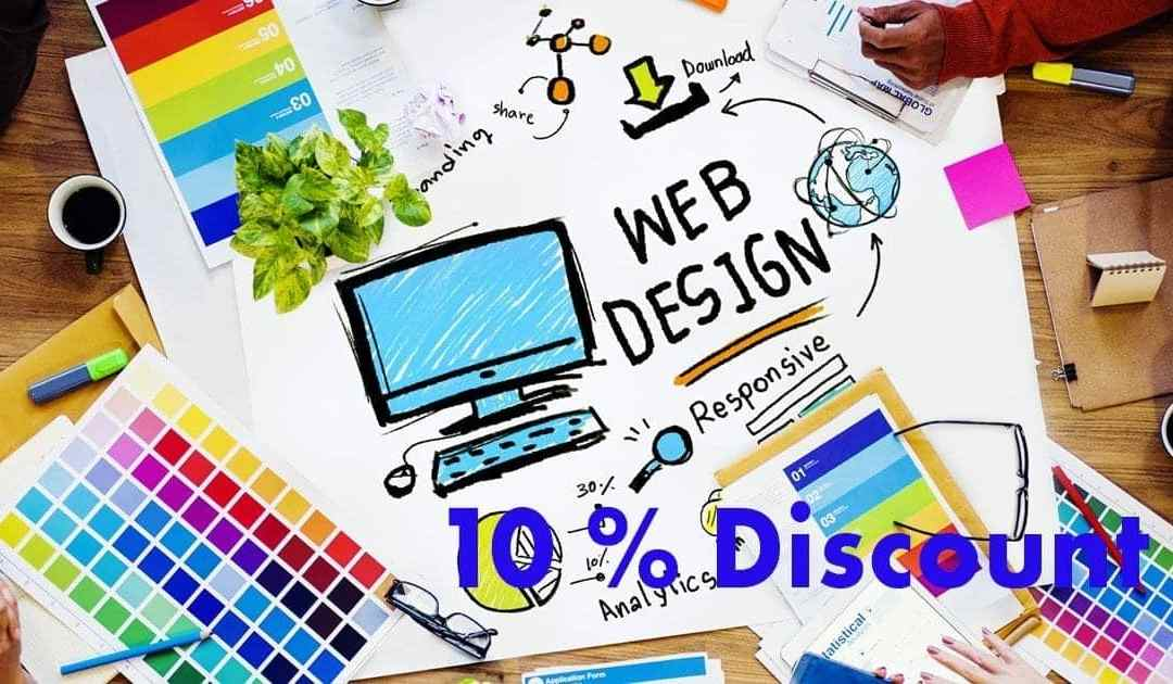 April Discount – Web Design