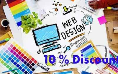 April Discount – Web Design