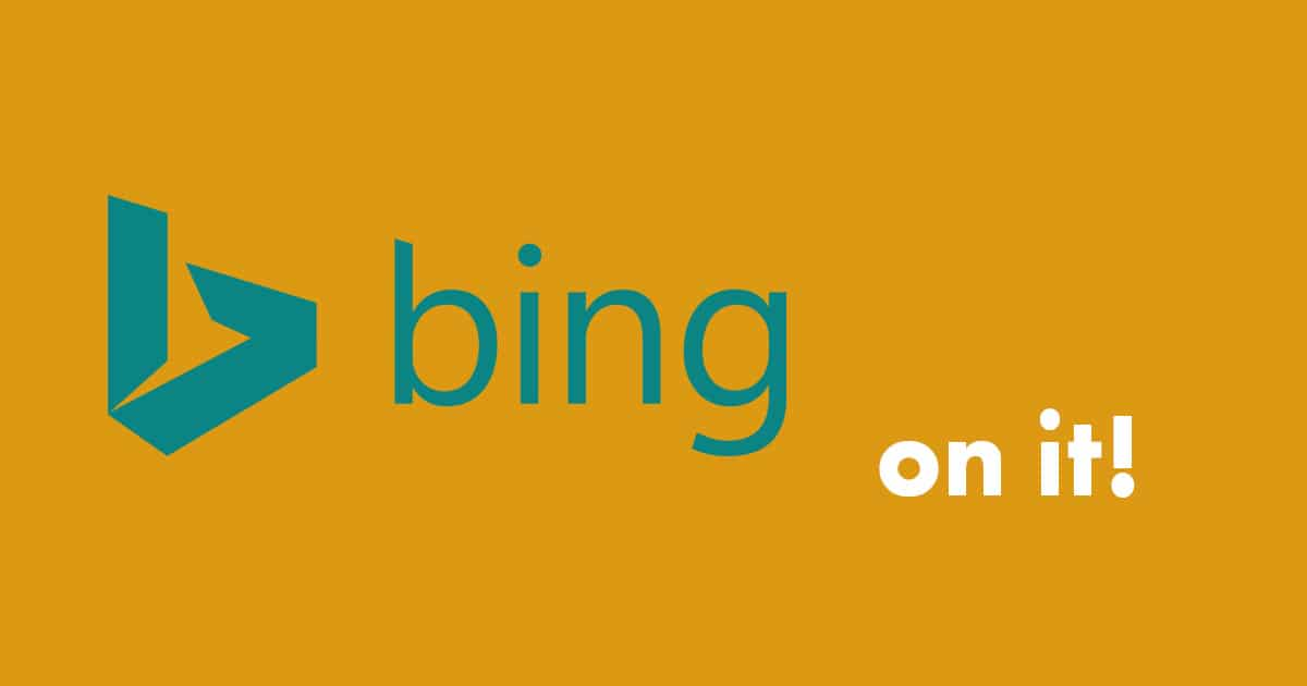 Bing - the better search engine
