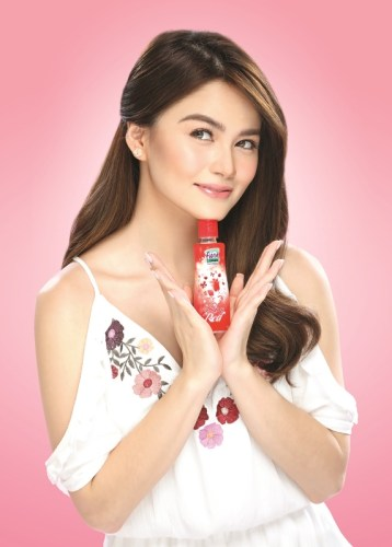 Elisse Joson with Fiona Cologne
