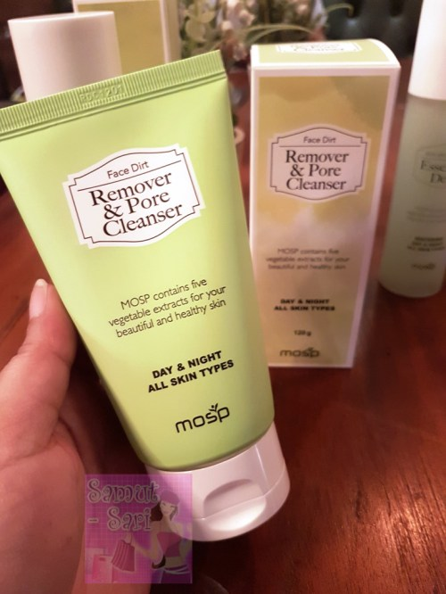 MOSP Philippines Face Dirt Remover and Pore Cleanser