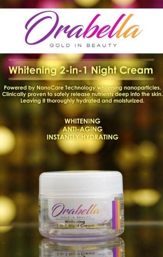 OraBella Gold in Beauty Night Cream
