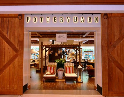 Citi Chic furniture from Pottery Barn