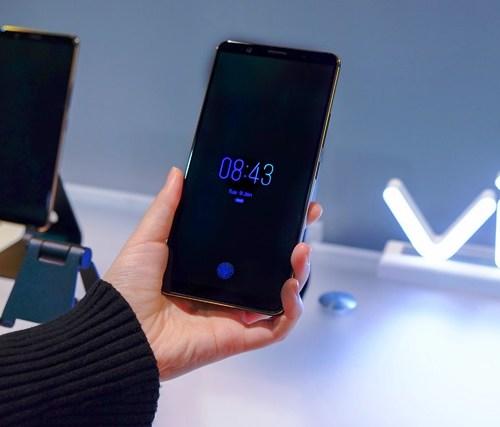 Vivo In-Display Fingerprint Scanning Technology