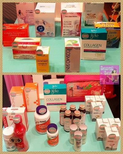 Watsons #HappyNewYou Happy New Year Health Supplements