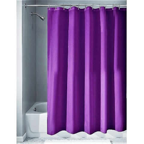 Imported Elegant Quality Purple Shower Curtain