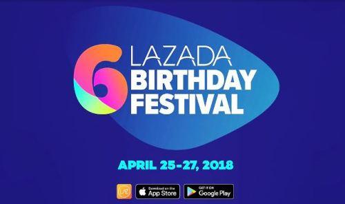Lazada 6th Birthday Sale