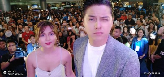 Perfect Shot Perfect view VIVO V9 Mall Tour with KathNiel