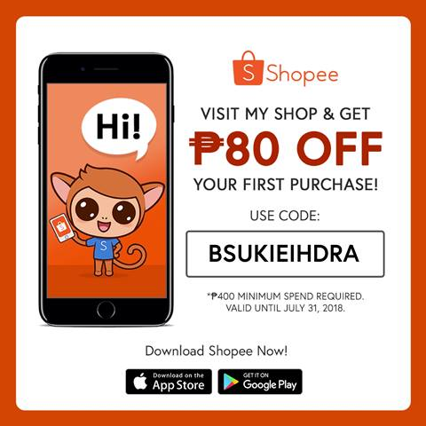 Shopee SUKI Code for Blog