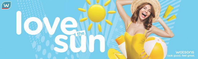 Watsons Love the Sun Campaign