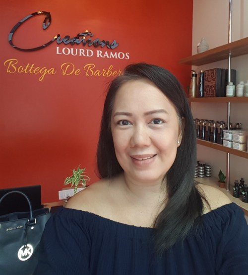 Creations by Lourd Ramos BGC Salon