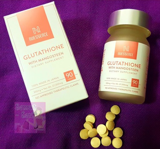 NuEssence Glutathione with Mangoesteen