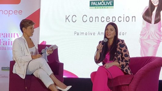 Shopee Beauty Fair Maybelline Palmolive Promotes Women Empowerment KC Concepcion
