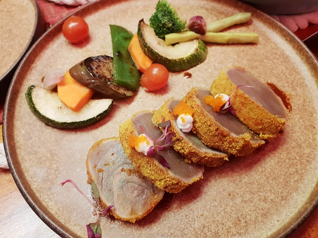 Akrotiri Modern Eurasian Cuisine Tuna Tataki