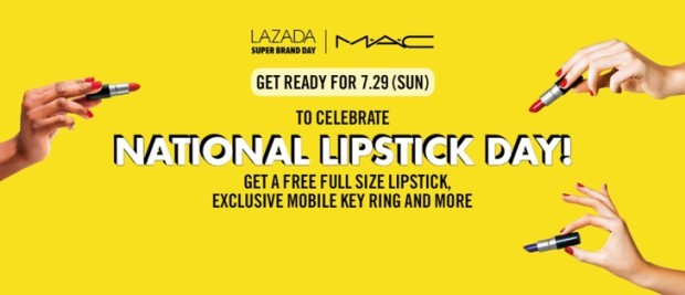 Lazada x Mac Super Brand Day