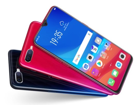OPPO F9 with VOOC Flash Charge and Gradient Color Design