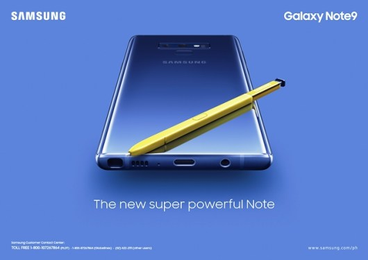 Samsung Galaxy Note9 The New Super Powerful Note
