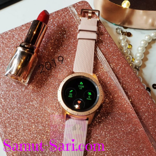 SAMSUNG Galaxy Watch – Designed to Keep You on Track