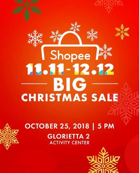 Shopee 11.11 – 12.12 Big Christmas Sale