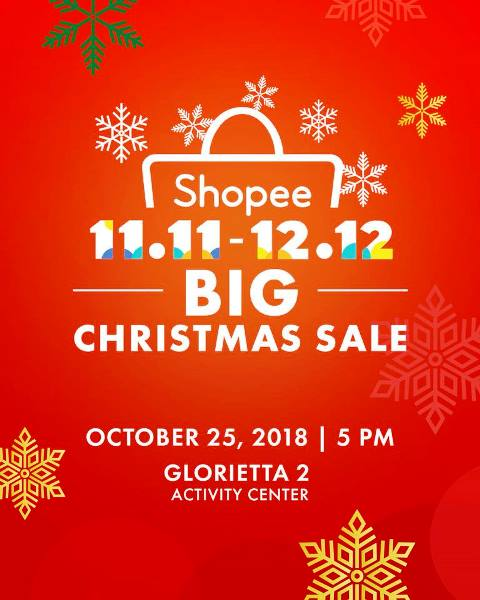 Shopee 11.11 - 12.12 Big Christmas Sale