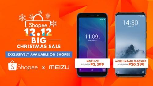 Meizu Shopee 12.12 Big Christmas Sale