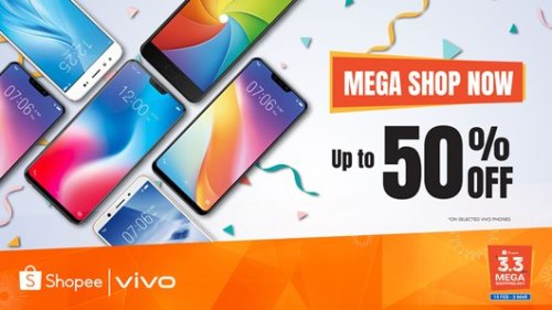 VIVO Sale Shopee Mega Shopping Day