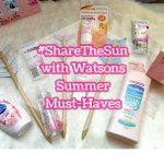 Watsons Summer Must-Haves
